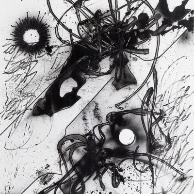 AU NOM DES MIENS 4, aérosol, glycéro et marker sur papier 77 x 107,5 cm, 2015