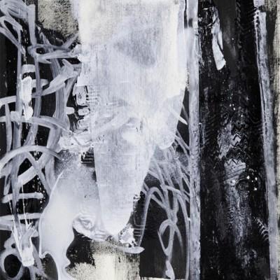 POSTER MIND, acrylique et aérosol sur papier 39 x 54 cm, 2015